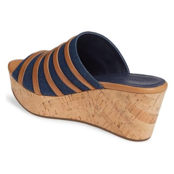 ショコラブルー レディース サンダル シューズ Chocolat Blu Wapi Wedge Sandal (Women)