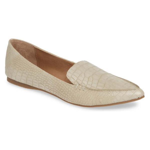 スティーブ マデン レディース パンプス シューズ Steve Madden Feather Loafer Flat (Women)