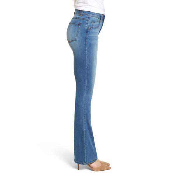 ウィット&ウィズダム レディース ブーツ・レインブーツ シューズ Wit & Wisdom Ab-solution Itty Bitty Bootcut Jeans (Regular & Petite)