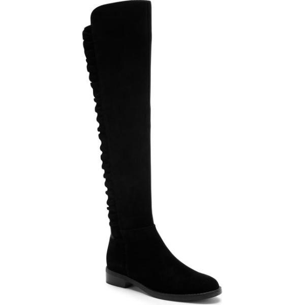 ブロンド レディース ブーツ・レインブーツ シューズ Blondo Ethos Over the Knee Waterproof Stretch Boot