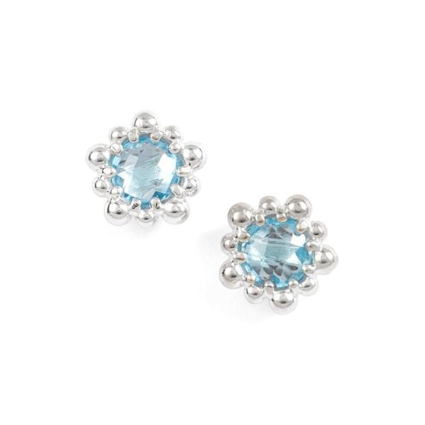 アンジー レディース ピアス・イヤリング アクセサリー Anzie Micro Dew Drop Topaz Earrings