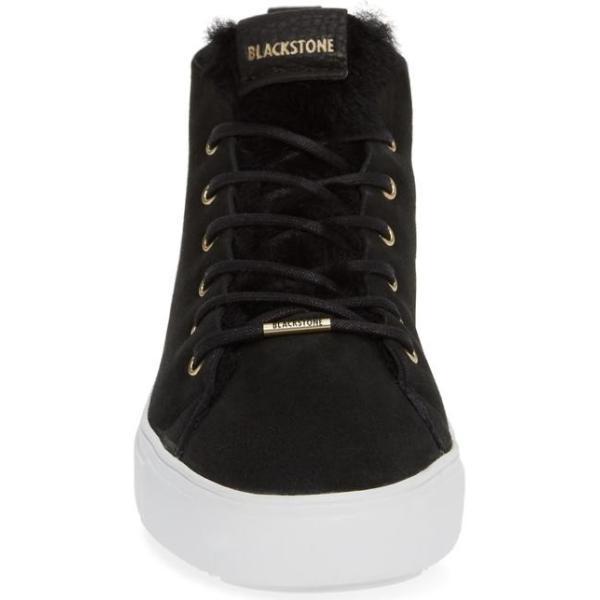 ブラックストーン レディース スニーカー シューズ Blackstone QL48 Genuine Shearling Lined High Top Sneaker