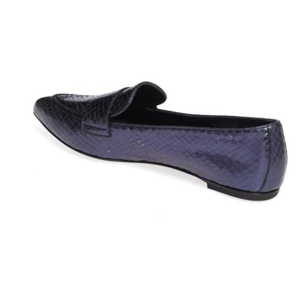 エージーエル レディース パンプス シューズ AGL Softy Pointy Toe Moccasin Loafer (Women)