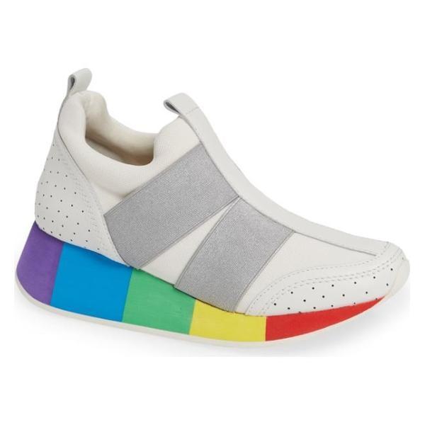 ドナルドプリネール レディース スニーカー シューズ Donald Pliner Prix Rainbow Platform Sneaker