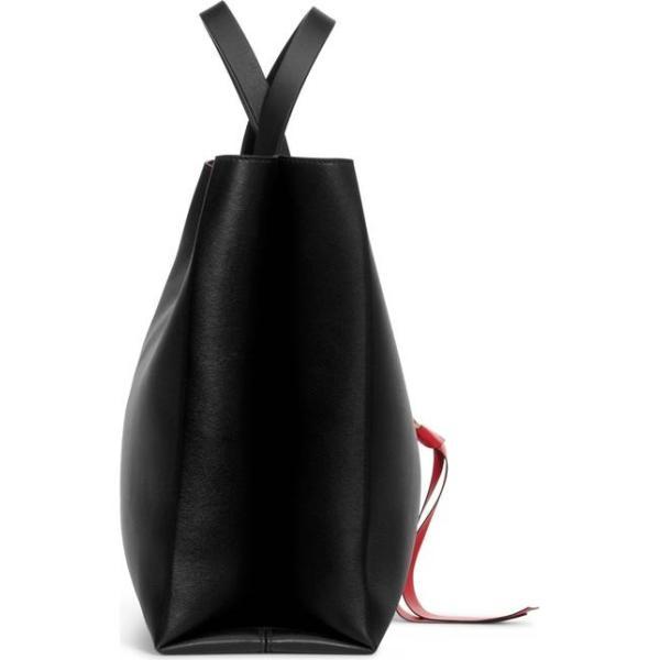 ヴァレンティノ レディース ショルダーバッグ バッグ VALENTINO GARAVANI V-Ring Leather Tote