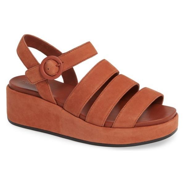 カンペール レディース サンダル シューズ Camper Misia Platform Wedge Sandal (Women)