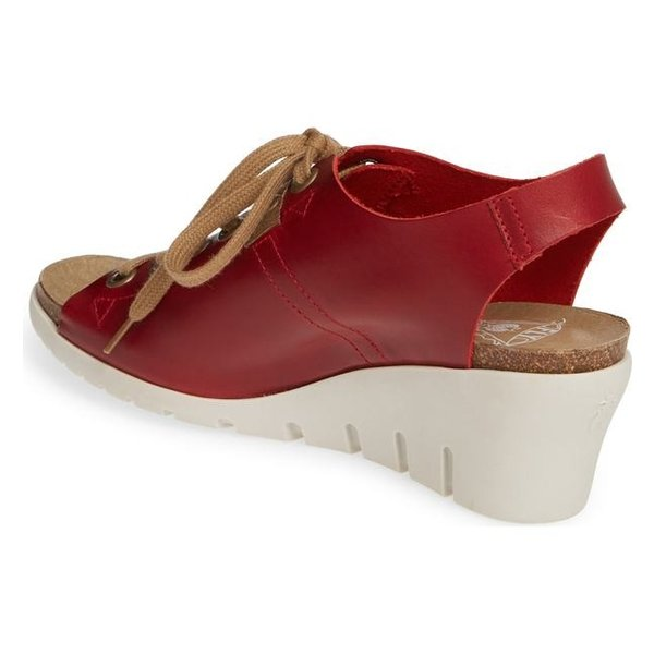 フライロンドン レディース サンダル シューズ Fly London Iant Wedge Sandal (Women)