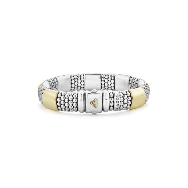 ラゴス レディース ブレスレット・バングル・アンクレット アクセサリー LAGOS Caviar High Bar Rope Bracelet