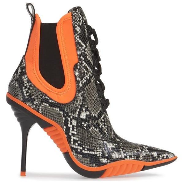 ジェフリー キャンベル レディース ブーツ・レインブーツ シューズ Jeffrey Campbell Big Bang Ankle Tie Bootie (Women)