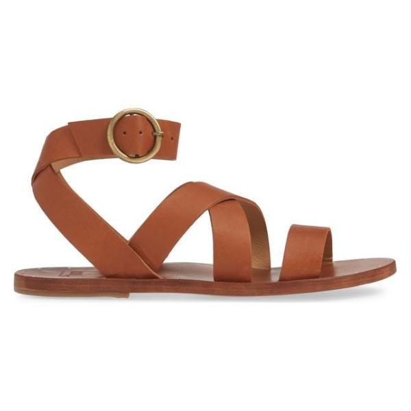ビーク レディース サンダル シューズ Beek Lora Strappy Flat Sandal (Women)