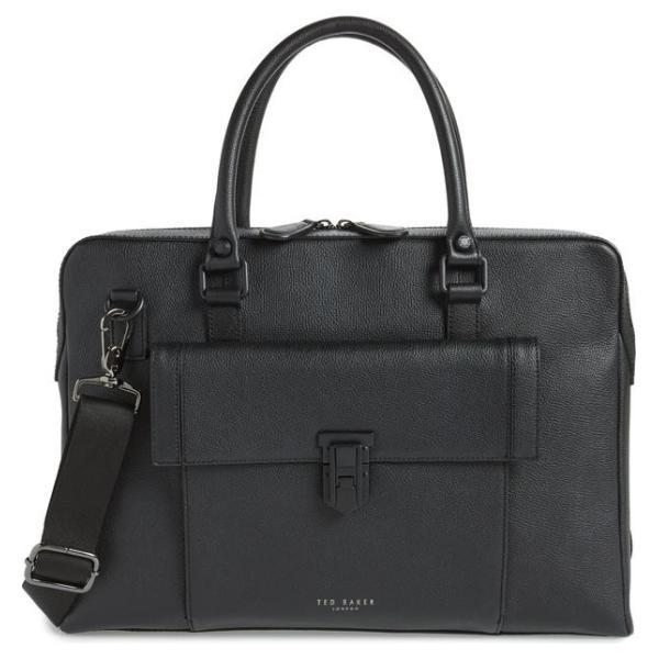 テッドベーカー メンズ バックパック・リュックサック バッグ Ted Baker London Leather Document Bag