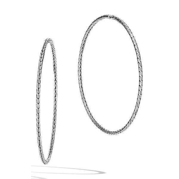 ジョン・ハーディー レディース ピアス・イヤリング アクセサリー John Hardy Classic Chain Extra Large Hoop Earrings