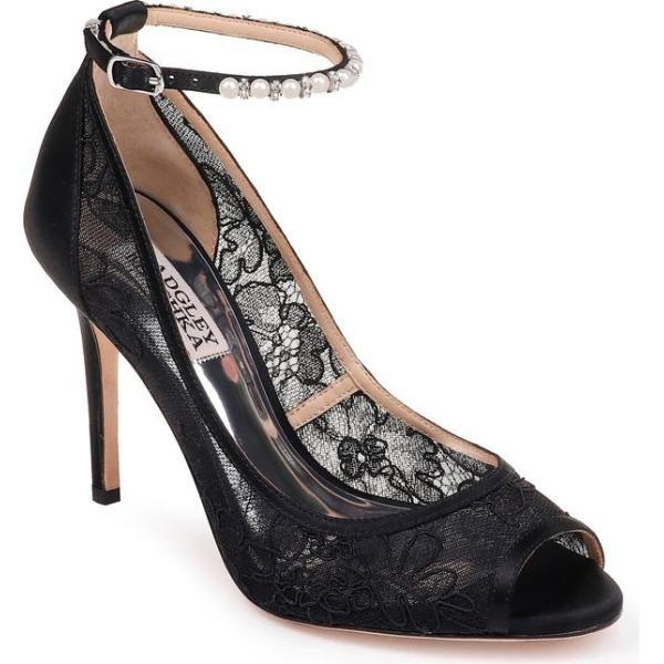 バッドグレイミッシカ レディース パンプス シューズ Badgley Mischka Ankle Strap Open Toe Pump (Women)