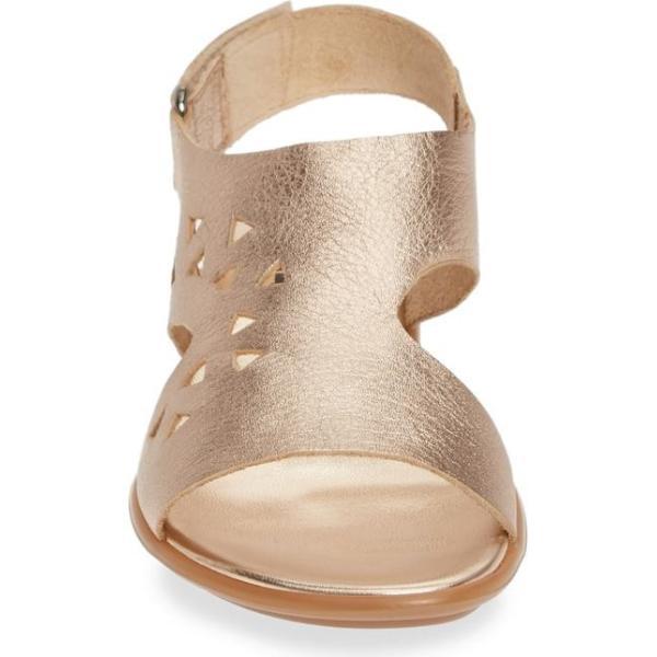 セストメウッシー レディース サンダル シューズ Sesto Meucci Evita Cutout Slingback Sandal (Women)