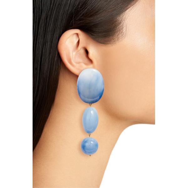 レレ サドイ レディース ピアス・イヤリング アクセサリー Lele Sadoughi Resin Bubble Drop Clip-On Earrings