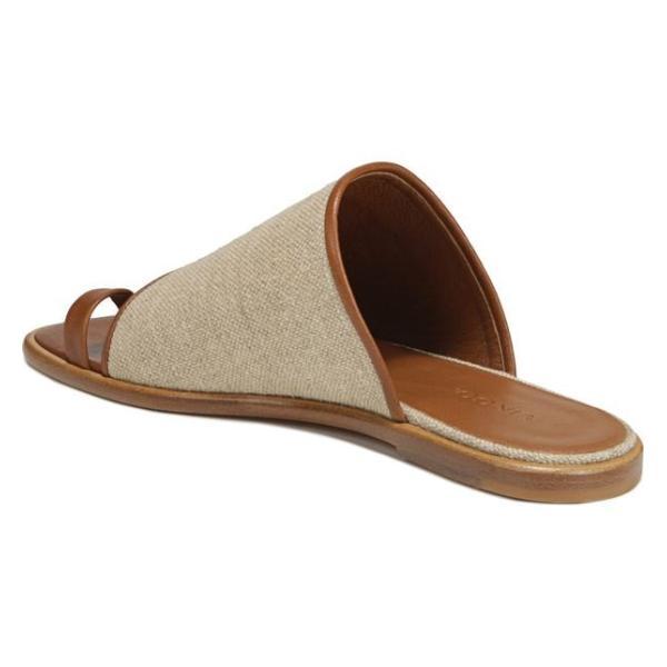 ヴィンス レディース サンダル シューズ Vince Edan Woven Toe Loop Sandal (Women)