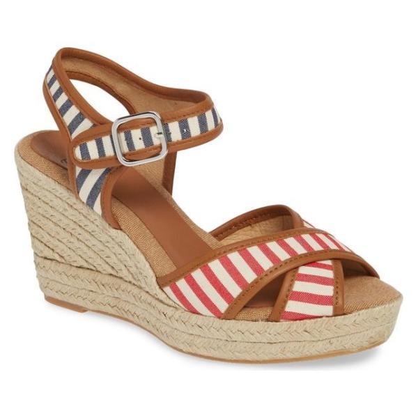 トニーポンズ レディース サンダル シューズ Toni Pons Arles Espadrille Wedge Sandal (Women)