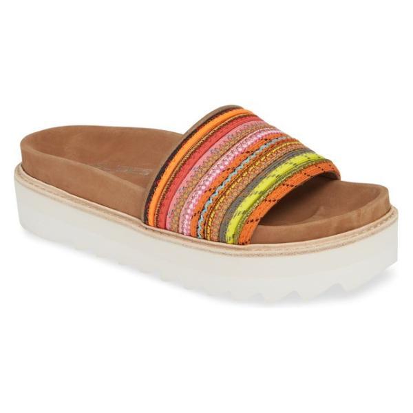 ジェースライズ レディース サンダル シューズ JSlides Lizzy Platform Slide Sandal (Women)