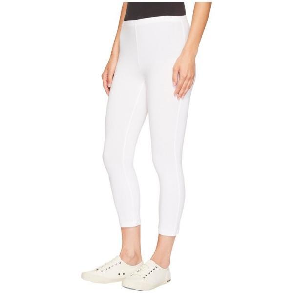 ヒュー レディース カジュアルパンツ ボトムス Cotton Capri Legging