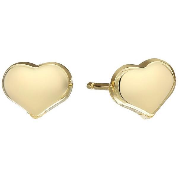 ロバートコイン レディース ピアス・イヤリング アクセサリー Solid Heart Stud Earrings - Tiny Treasures