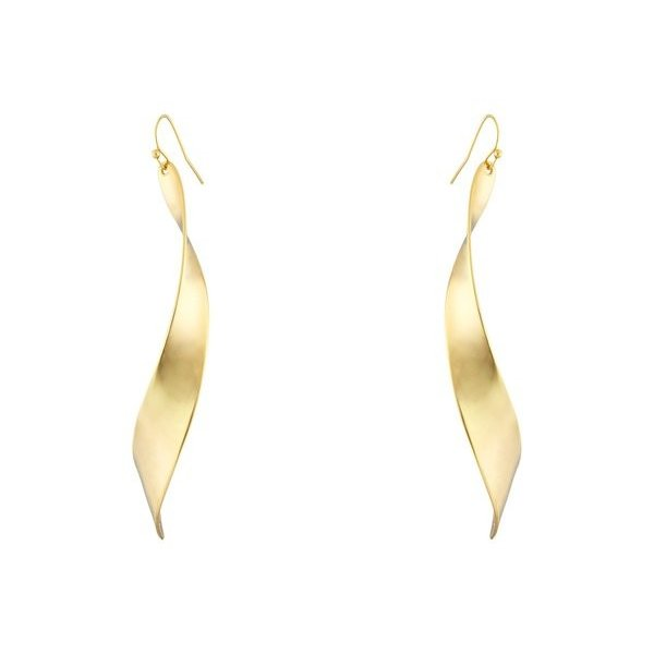 ロバートリーモリス レディース ピアス・イヤリング アクセサリー Linear Twist Earrings
