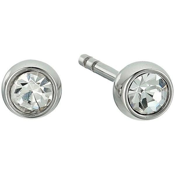 フォッシル レディース ピアス・イヤリング アクセサリー Crystal Studs Earrings