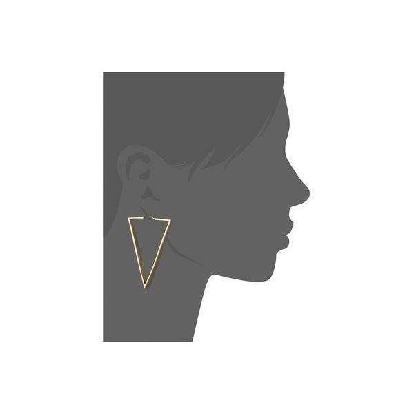 ヴィンスカムート レディース ピアス・イヤリング アクセサリー V Hoop Earrings