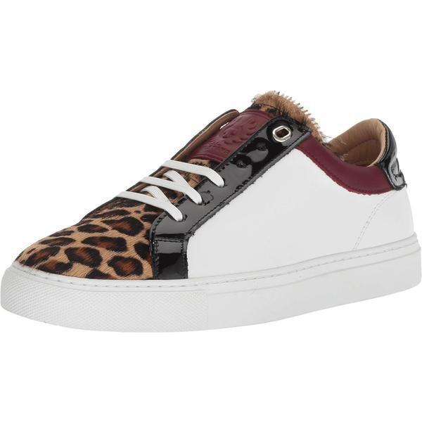 ベルスタッフ レディース スニーカー シューズ Leopard Mix Dagenham Nappa Sneaker