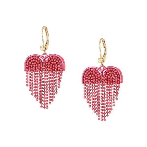 ベッツィジョンソン レディース ピアス・イヤリング アクセサリー Fringe Heart Drop Earrings