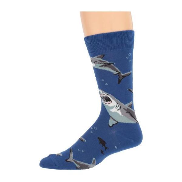 ソックスミス メンズ 靴下 アンダーウェア Shark Chums|revida