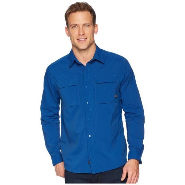 マウンテンハードウェア メンズ シャツ トップス Canyon Pro¢ Long Sleeve Top|revida