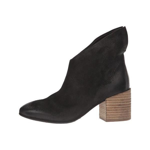 マルセル レディース ブーツ・レインブーツ シューズ Coltello Stack Heel Asymmetric Boot