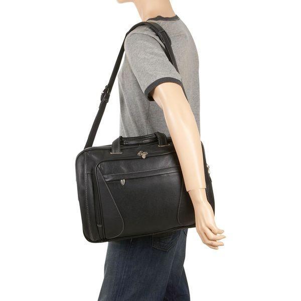 マックレイン メンズ スーツケース バッグ Irving Park 15.6 Laptop Case