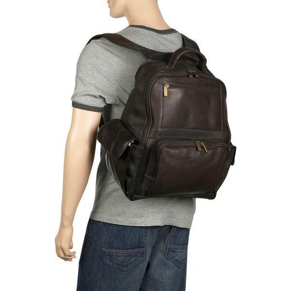 デビッドキング メンズ スーツケース バッグ Large Computer Backpack