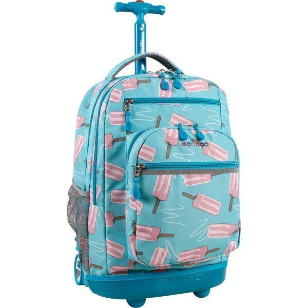 ジャイワールドニューヨーク メンズ バックパック・リュックサック バッグ Sundance Laptop Rolling Backpack