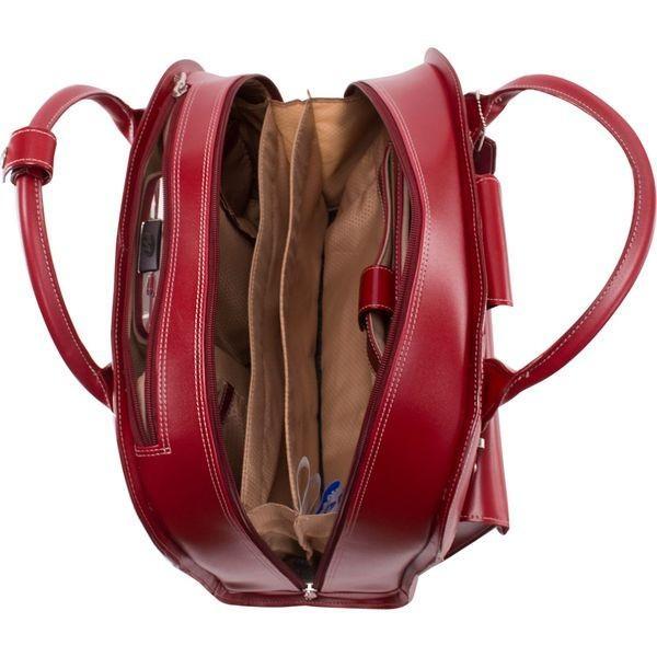 マックレイン メンズ スーツケース バッグ Edgebrook Wheeled Ladies 15 Laptop Case