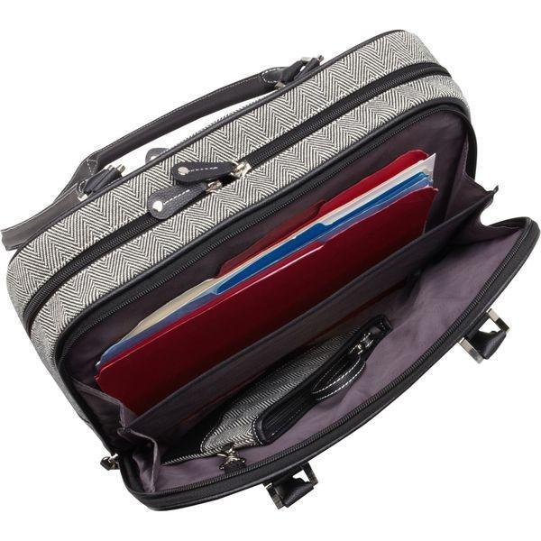 モバイルエッジ メンズ スーツケース バッグ Classic Herringbone Laptop Tote (Large)- 16PC / 17MacBook Pro