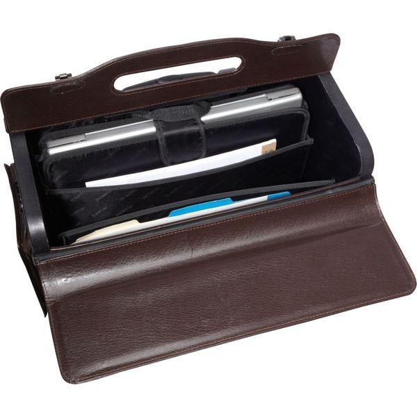マンシニレザーグッズ メンズ スーツケース バッグ Wheeled Laptop Catalog Case