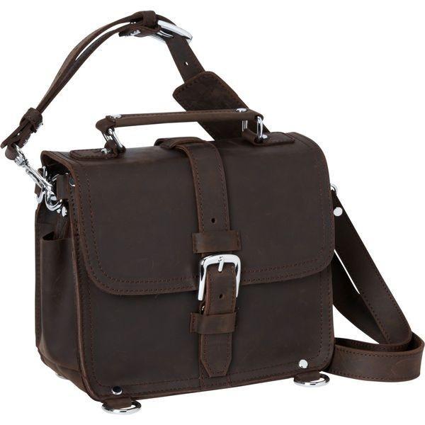 ヴァガボンドトラベラー メンズ ショルダーバッグ バッグ 11 Leather Camera/Tablet Bag