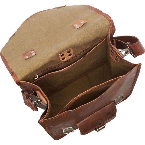 シャロレザーバッグス メンズ スーツケース バッグ Long Three-in-One Backpack/Brief/Messenger