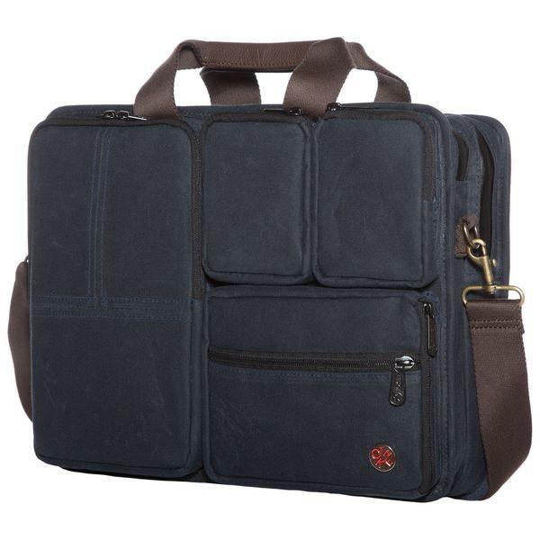 トーケン メンズ スーツケース バッグ Waxed Hewes Briefcase