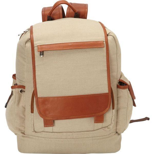 ピエール メンズ バックパック・リュックサック バッグ Multi-Pocket Travelers Backpack