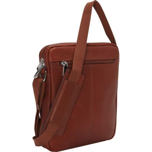 マンシニレザーグッズ メンズ ショルダーバッグ バッグ RFID Tablet Shoulder Bag