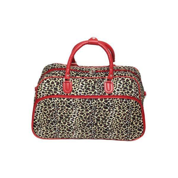 ワールドトラベラー メンズ スーツケース バッグ Leopard 21 Carry-On Duffel Bag