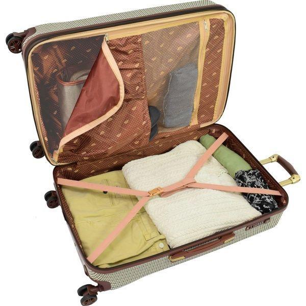 ロンドンフォグ メンズ スーツケース バッグ Cambridge 29 Expandable Hardside Spinner