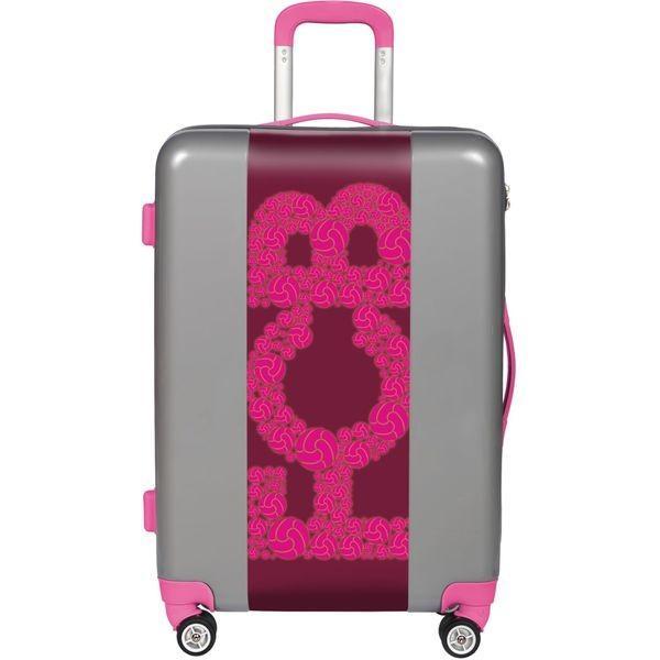 ウゴバッグ メンズ スーツケース バッグ FCB Pink 22 Hardside Spinner Carry-On