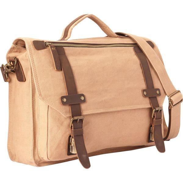 ヴァガボンドトラベラー メンズ ショルダーバッグ バッグ Classic Canvas Laptop Messenger Bag