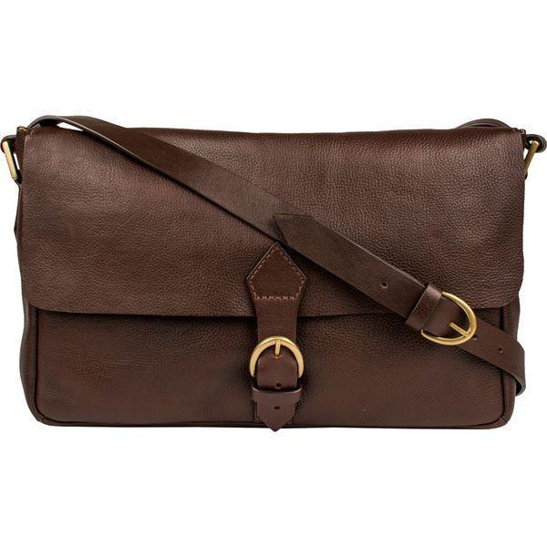 スカーリー メンズ スーツケース バッグ Berkeley Leather Buckle Flap Workbag
