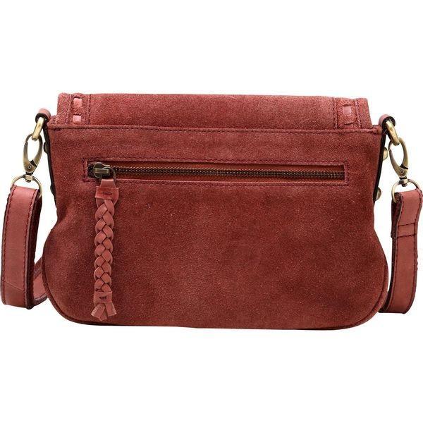 ビンセンゾレザー メンズ ボディバッグ・ウエストポーチ バッグ Mae Suede Leather Crossbody Handbag