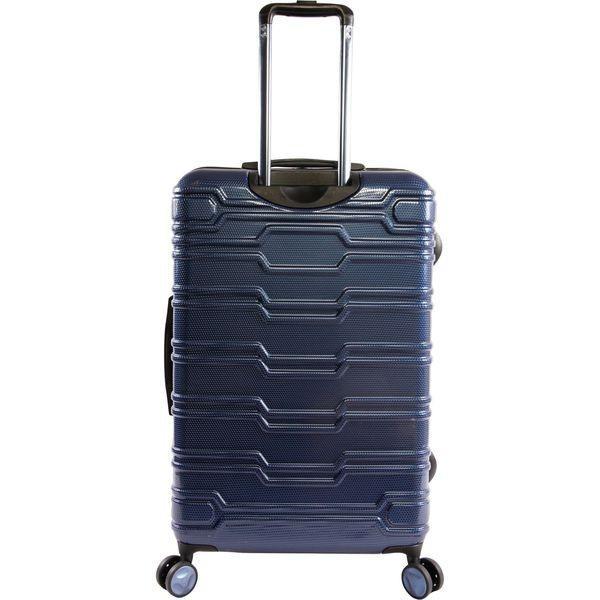 オリジナルペンギン メンズ スーツケース バッグ Collins 3 Piece Set Expandable Suitcase with Spinner Wheels